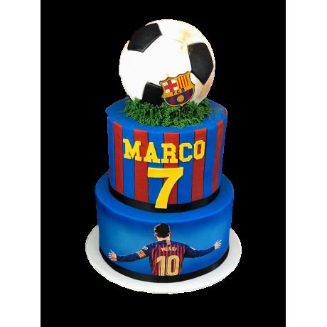 Barcelona cake 7