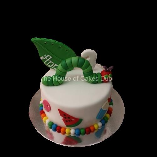 caterpillar cake 7