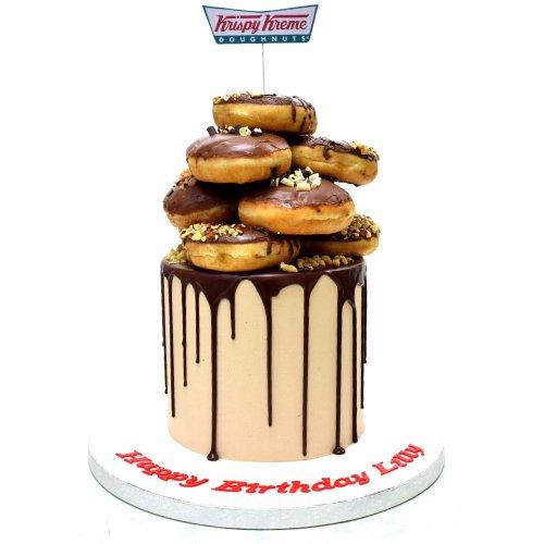 Crispy Creme Doughnuts Cake