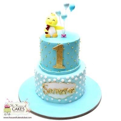 Cute chick cake