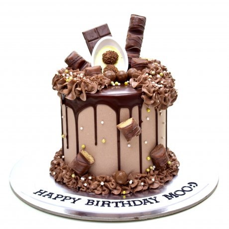 Dripping Chocolate Fantasy Cake