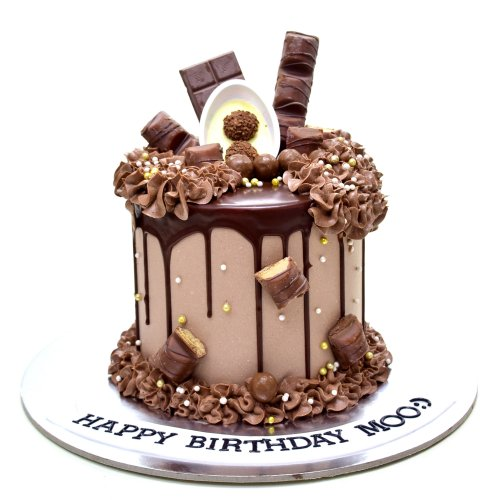 dripping chocolate fantasy cake 8