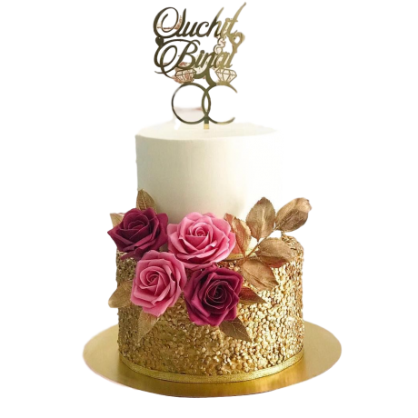 engagement rings cake 3 6