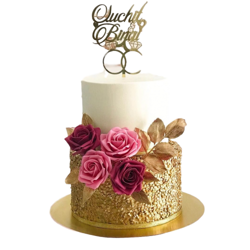 engagement rings cake 3 7
