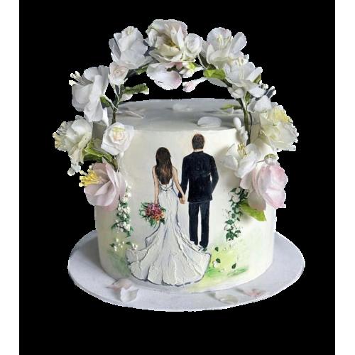 engagement ring cake 2 7