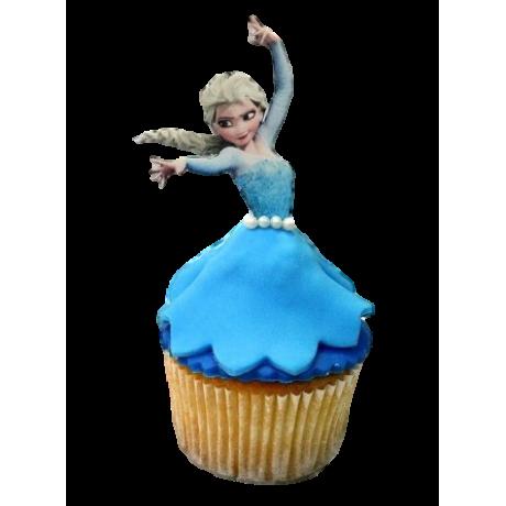 elsa cupcakes 12