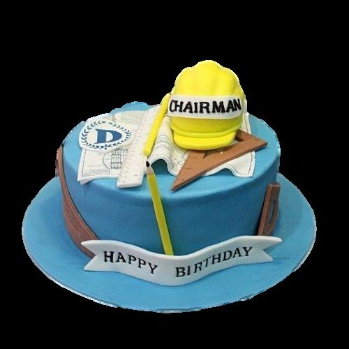 Engineer cake 1