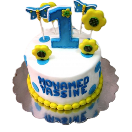 first birthday cake 12 6