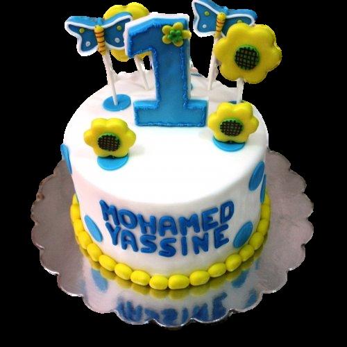 first birthday cake 12 7