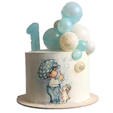 first birthday cake 18 6