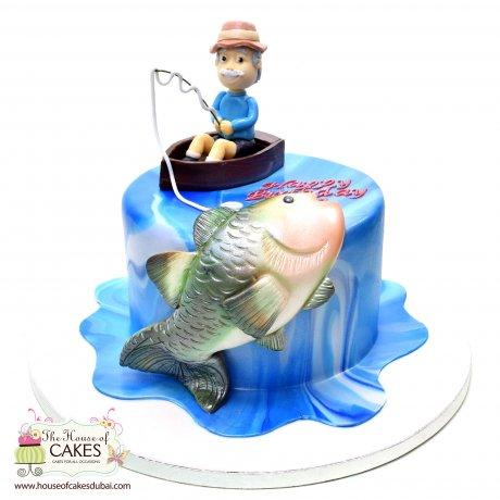 Fishing Cake 7