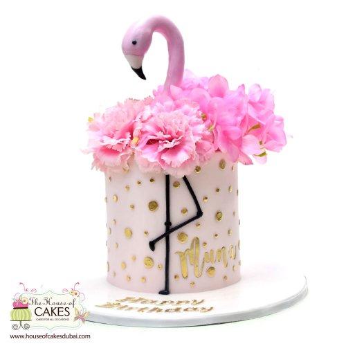 Flamingo Cake 11