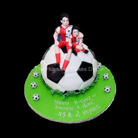 football cake 11 13