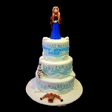 frozen cake with anna 6