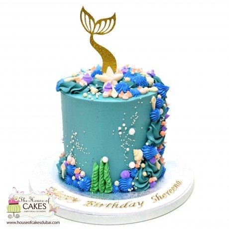Mermaid Cake 30