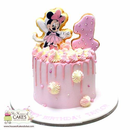 Minnie Mouse Cake 50