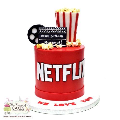 Netflix Cake 1