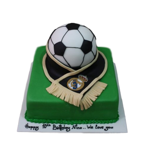 Real Madrid cake 2