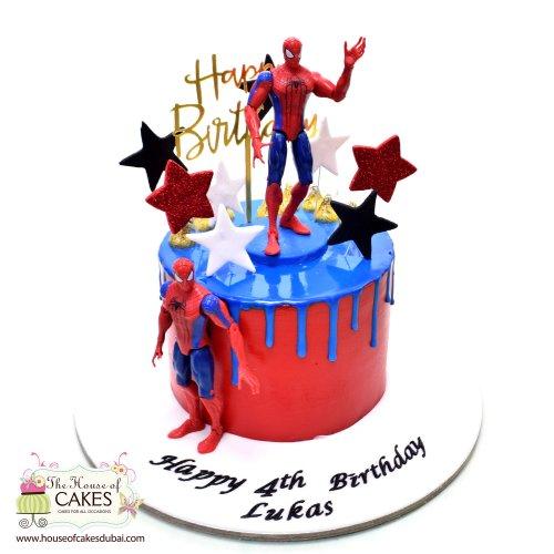 Spiderman Cake 5