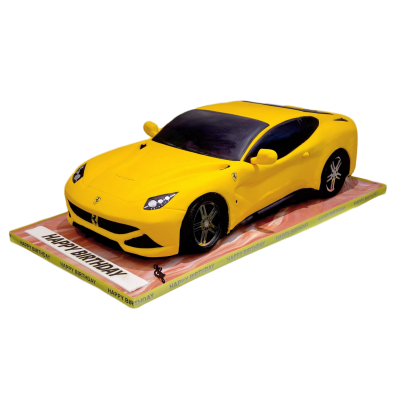 Sport Car Cake