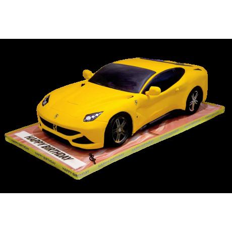 sport car cake 6