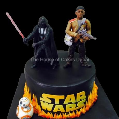 star wars cake 4 6