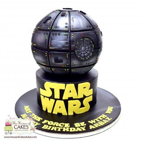 star wars cake 2 6