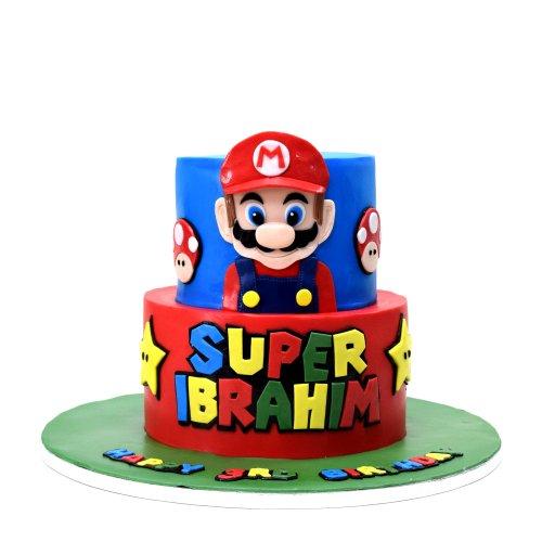 Super Mario Cake 9