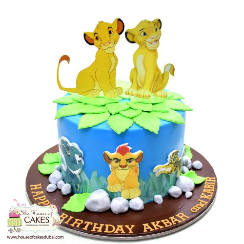 The Lion King Cake 1