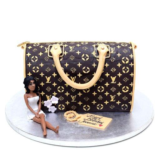 louis vuitton bag cake 8 7