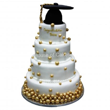 graduation cake 24 6