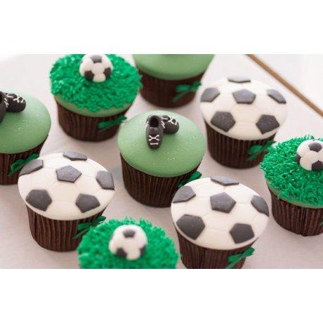 football cupcakes 2 6