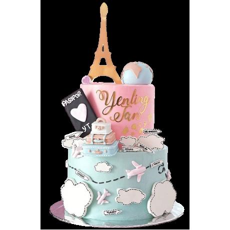 around the world cake 6