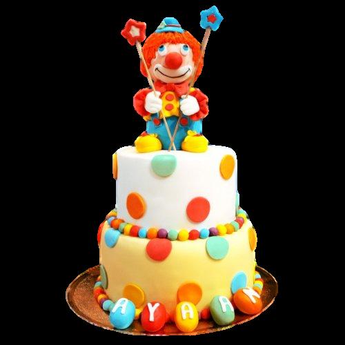 clown cake 1 7