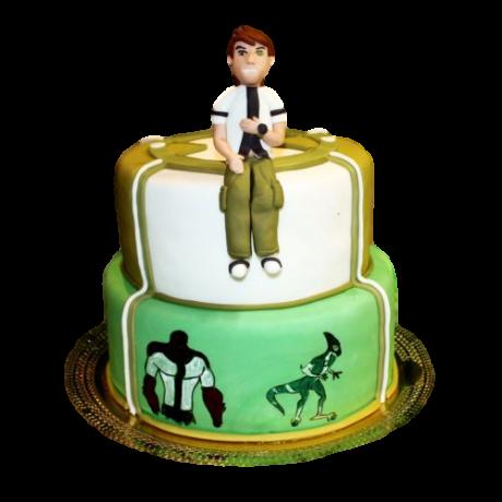 ben ten cake 6 6