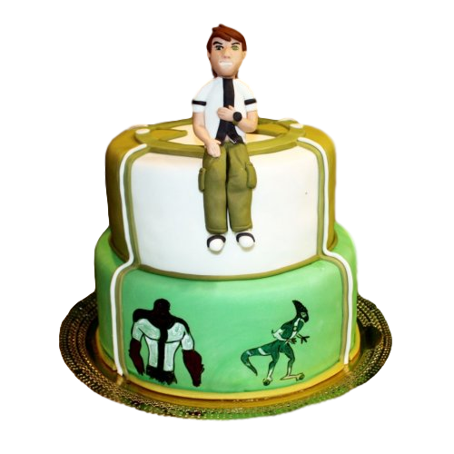 ben ten cake 6 7