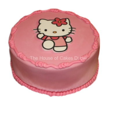 Hello Kitty Cake 8