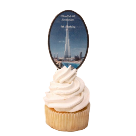Burj Khalifa Cupcakes