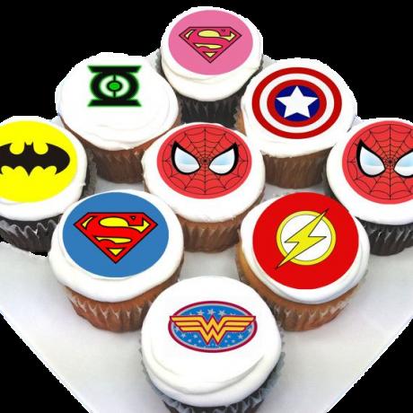 cupcakes superheroes 3 6