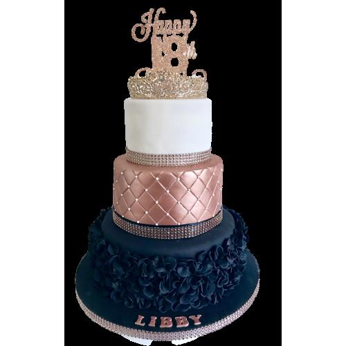 18th birthday cake 2