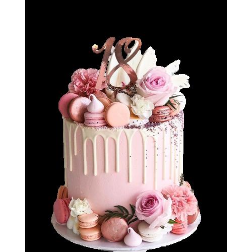 18th birthday cake 3 7