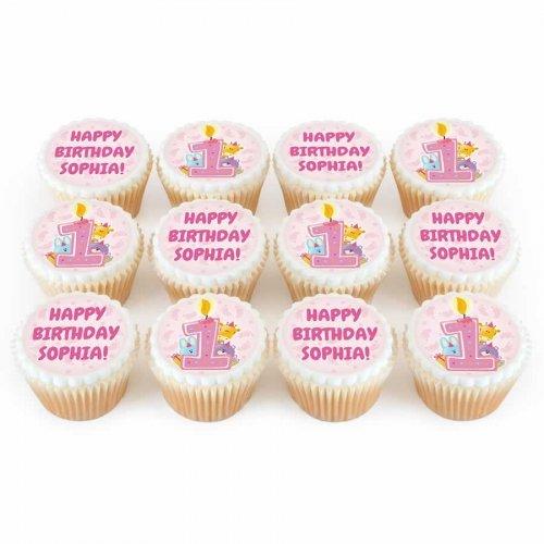 1st birthday cupcakes 7