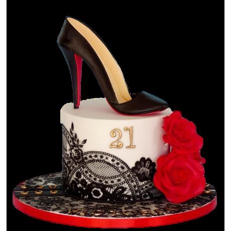 christian louboutin shoe cake 7 6