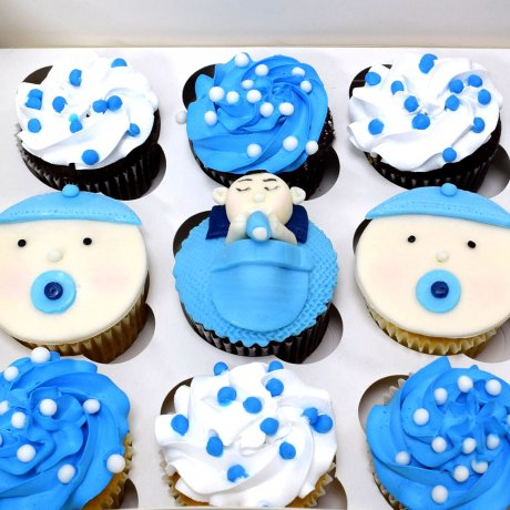 baby cupcakes 4 6