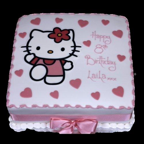 Hello Kitty Cake 17