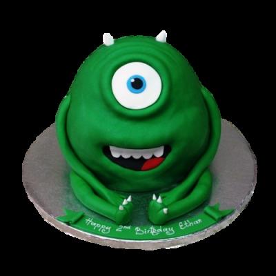 Green Monster Cake