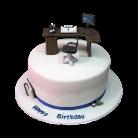 desk cake 6