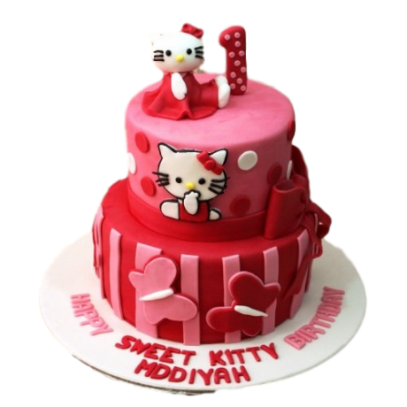 Hello Kitty Cake 21