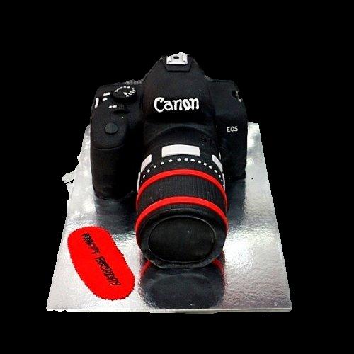 canon camera cake 6 7