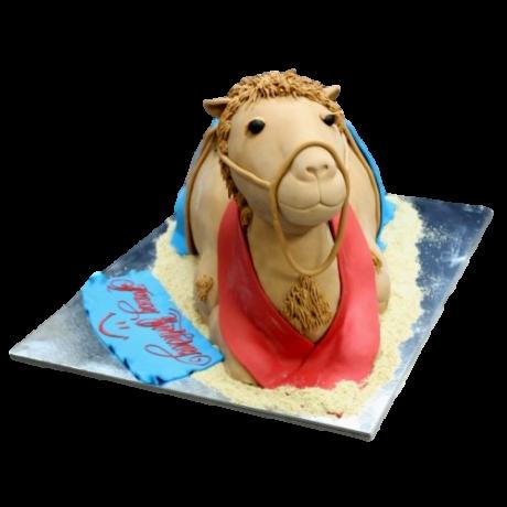 camel cake 3d shape 6